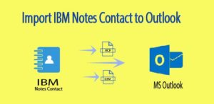 Export Lotus Notes Contacts to MS Outlook